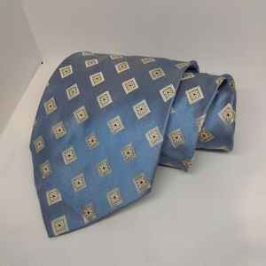 Hugo Boss Italian Silk Blue Tie